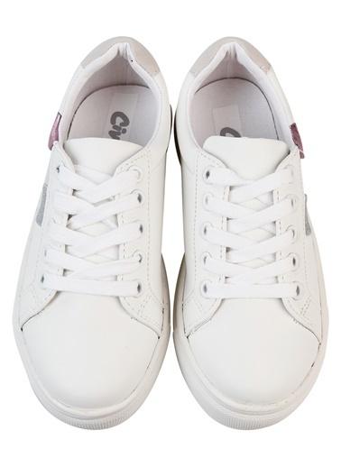 ÖTS Civil Kız Çocuk Spor Ayakkabı 31-38 Numara Beyaz Civil Kız Çocuk Spor Ayakkabı 31-38 Numara Beyaz Beyaz